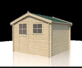 Cabane en bois Salzbourg | 295 x 295 cm