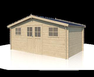 Cabane en bois Hudson | 505 x 295 + 10 cm