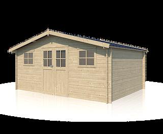 Cabane en bois Hudson | 505 x 385 + 20 cm