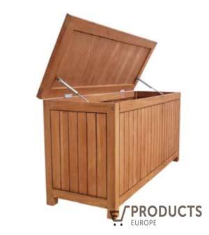 <BIG><B>Teak kussenbox Large 120x45x60cm</B></BIG>