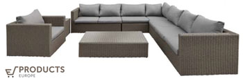 <BIG><B>Wicker loungeset Daytona</B></BIG>