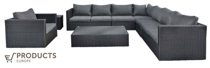 <BIG><B>Wicker loungeset Belmont</B></BIG>