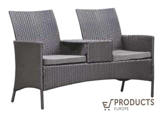 <BIG><B>Wicker loveseat Brentwood</B></BIG>