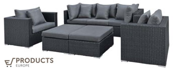 <BIG><B>Wicker loungeset (2 colli) Bakersfield</B></BIG>