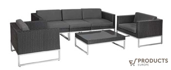 <BIG><B>Wicker loungeset Richmond</B></BIG>