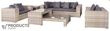 <BIG><B>Wicker loungeset Hamilton</B></BIG>