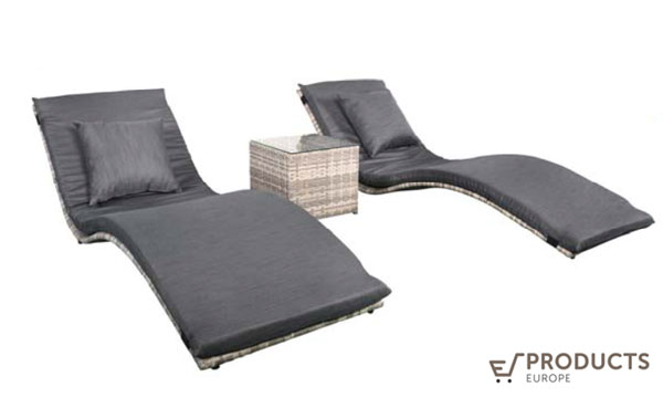 <BIG><B>Wicker loungerset Lancaster</B></BIG>