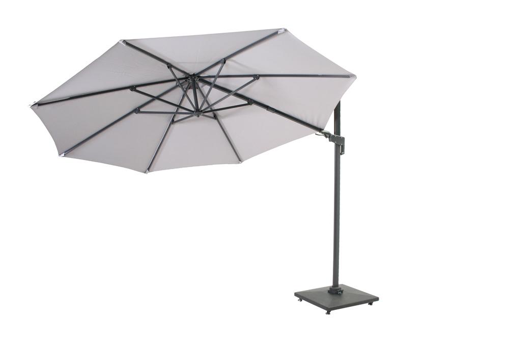 <BIG><B>Borneo parasol deluxe &#216;3,5 licht grijs</B></BIG>