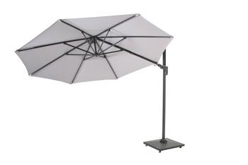<BIG><B>Borneo parasol deluxe Ø3,5 licht grijs</B></BIG>