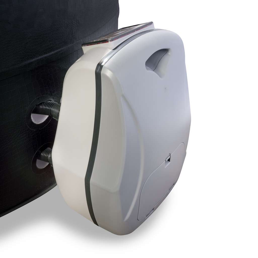 EXIT Leather Premium spa ø184x73cm - noir