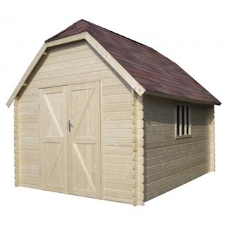 Cabane en bois Oxford L | 355x355 cm