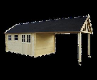 Cabane en bois Gloucester XL | 880x295 cm