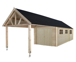 Garage Gloucester XL | 320x910 cm