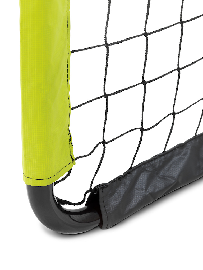 EXIT Tempo stalen voetbaldoel 180x120cm - groen/zwart