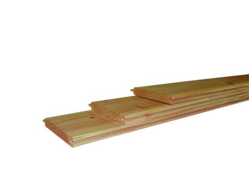 <BIG><B>Douglas geschaafd dakbeschot 1,8 x 14,5 x 500 cm, groen ge&iuml;mpregneerd.</B></BIG>