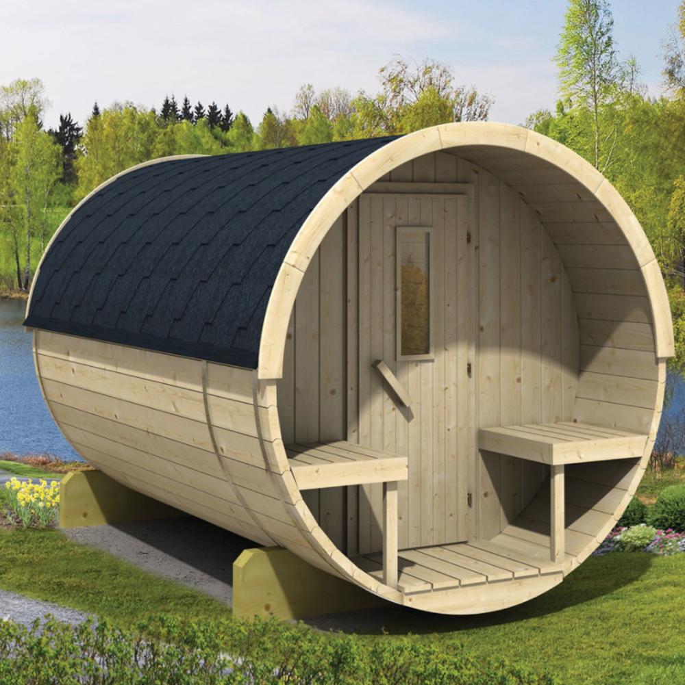 <BIG><B>Baril de sauna 300cm</B></BIG>