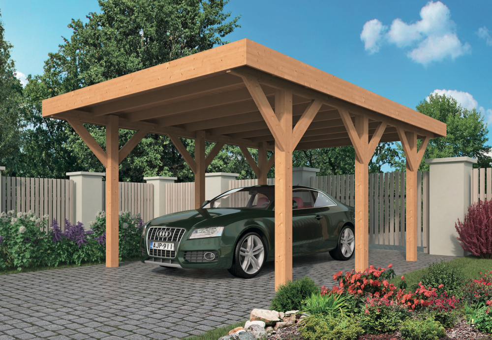 <BIG><B>Carports DIY Lemmer y compris EASY-Roofing</B></BIG>