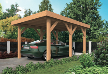 DHZ Carports Sloten inclusief EASY-Roofing