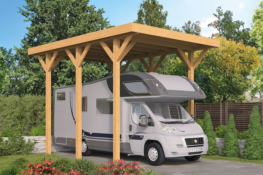 <BIG><B>DHZ Carports Lemselo inclusief EASY-Roofing</B></BIG>