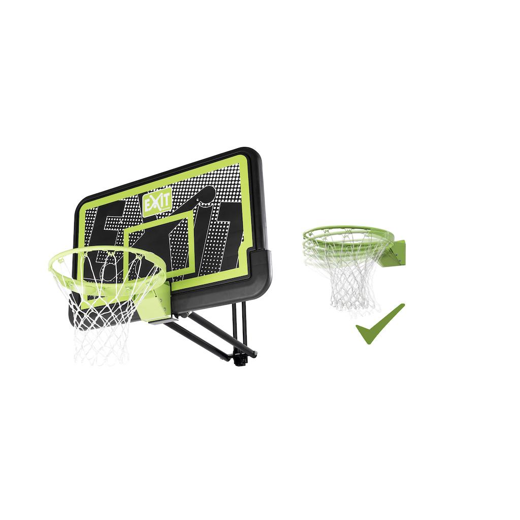 EXIT Galaxy basketbalbord voor muurmontage met dunkring - black edition