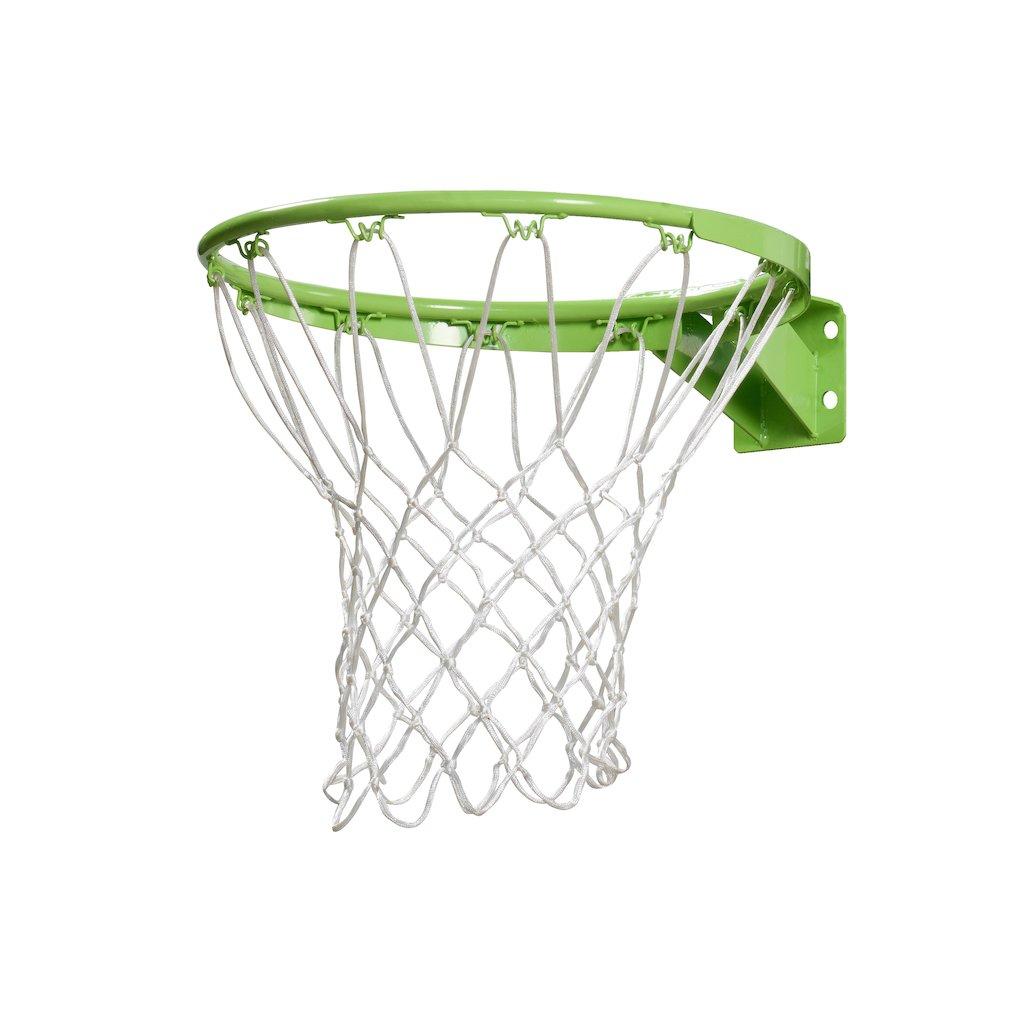 EXIT Galaxy Ring + Net panier de basket 45 cm Vert Métal Intérieur / extérieur