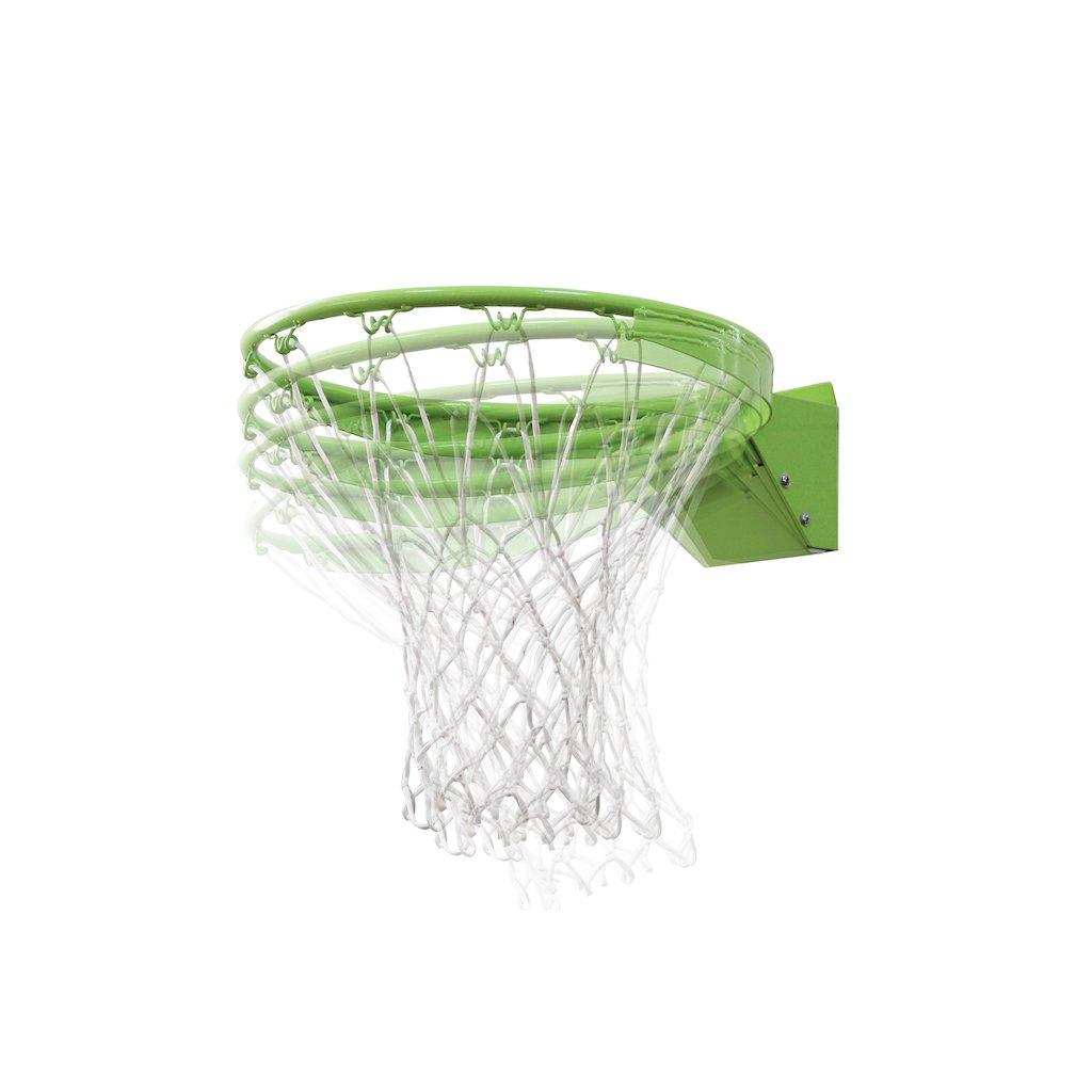 EXIT Galaxy Dunkring + Net basketbalring 45 cm Groen Metaal Binnen/buiten