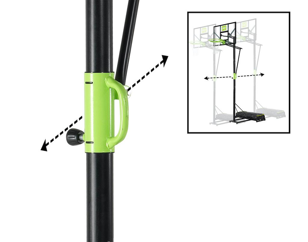 EXIT Panier portable Polestar Polycarbonate rectangulaire portable (PC)