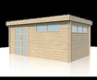 Cabane en bois | moderne | 505 x 295 cm