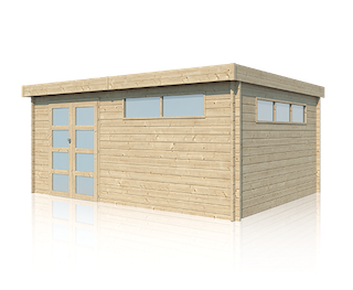 Cabane en bois | moderne | 505 x 385 cm