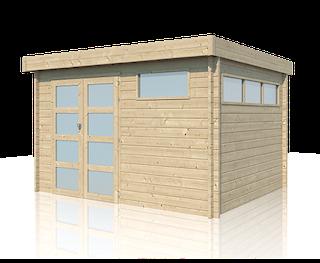 Blokhut | Modern | 355 x 295 | E-woodproducts