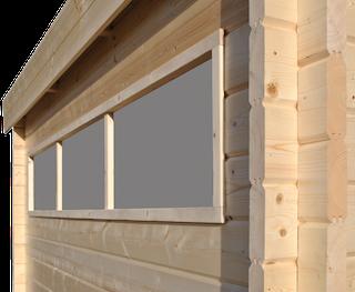 Cabane en bois | moderne | 355 x 295 cm