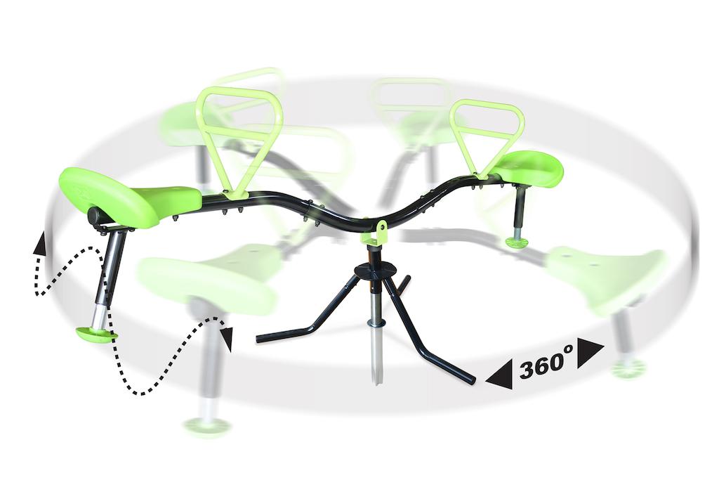 EXIT Spinner - draaibare Wipwap