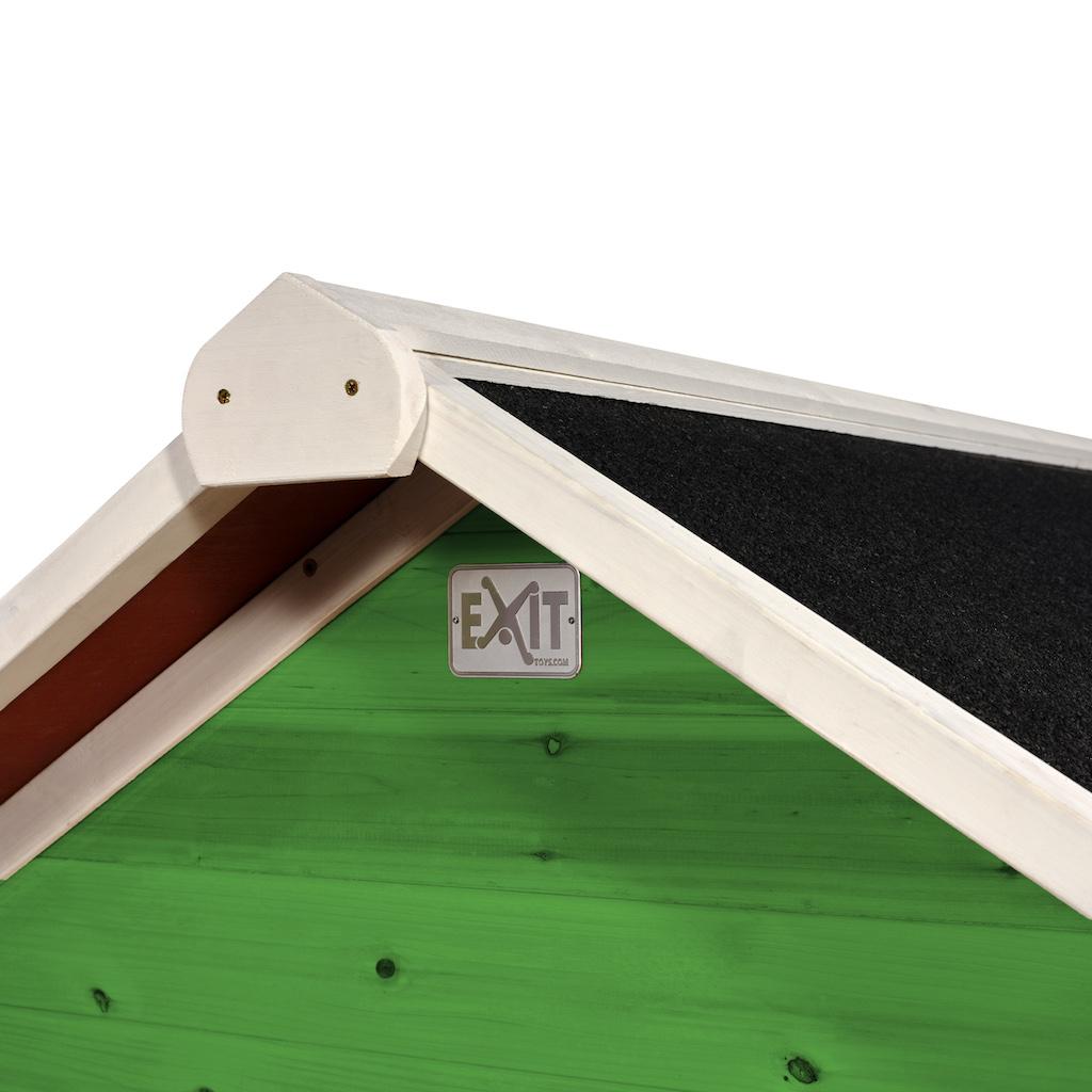 EXIT Loft 100 houten speelhuis - groen