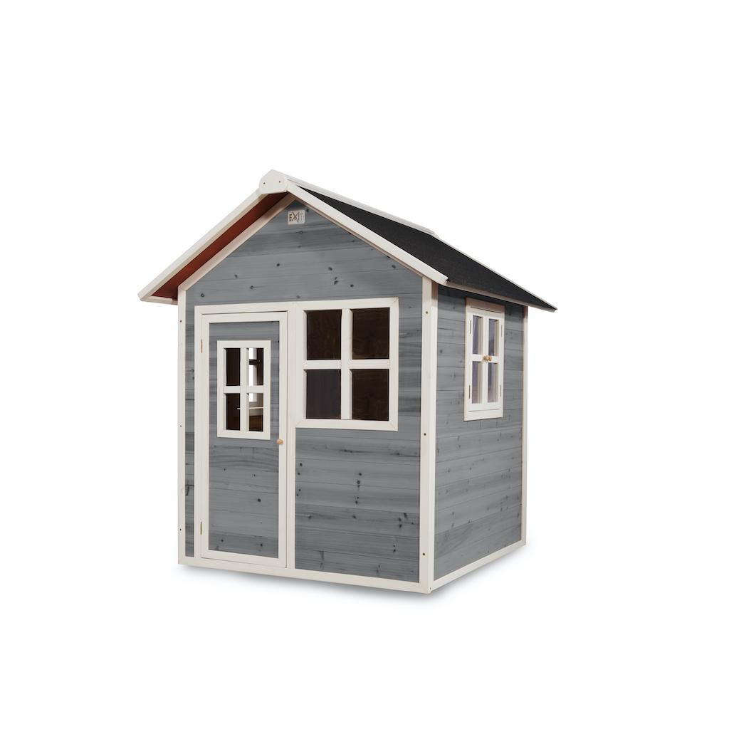 EXIT Loft 100 houten speelhuis - grijs