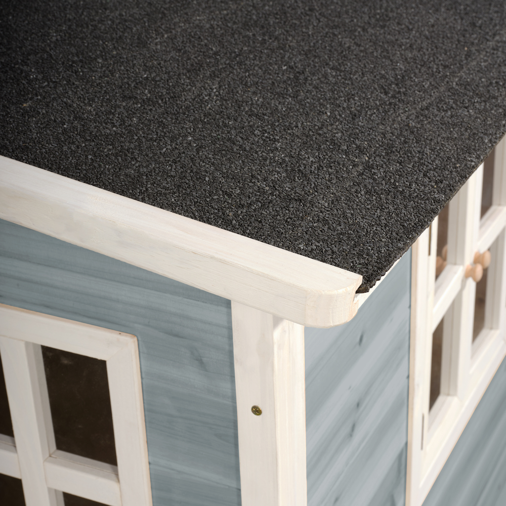 EXIT Loft 100 houten speelhuis - blauw