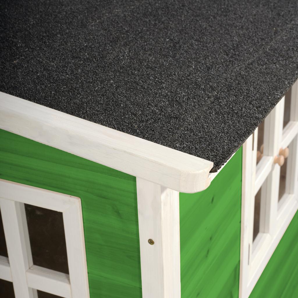 EXIT Loft 150 houten speelhuis - groen