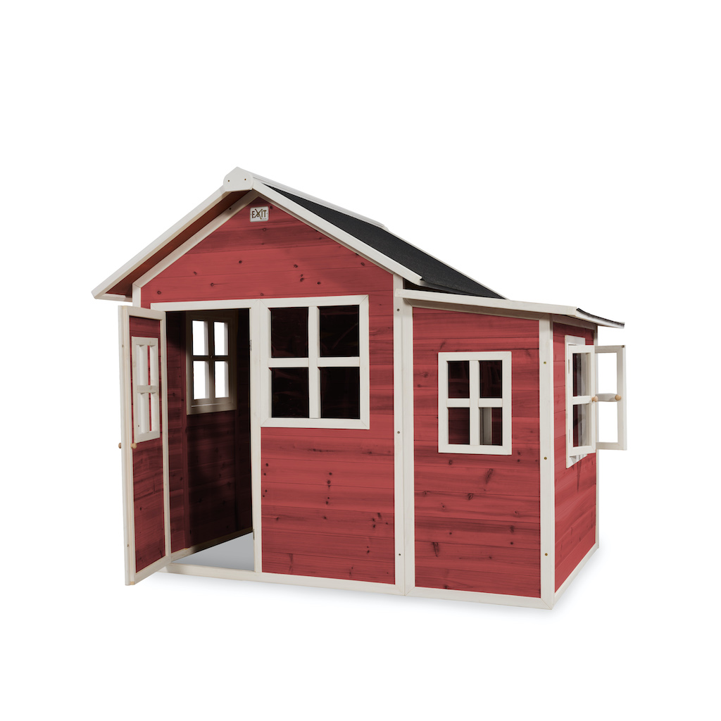 EXIT Loft 150 houten speelhuis - rood