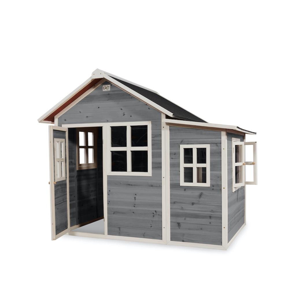 EXIT Loft 150 houten speelhuis - grijs