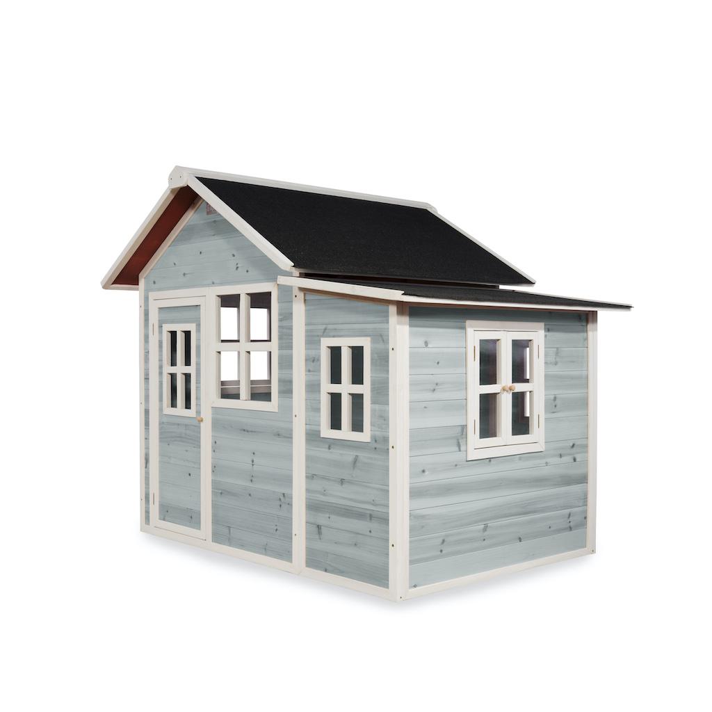 EXIT Loft 150 houten speelhuis - blauw
