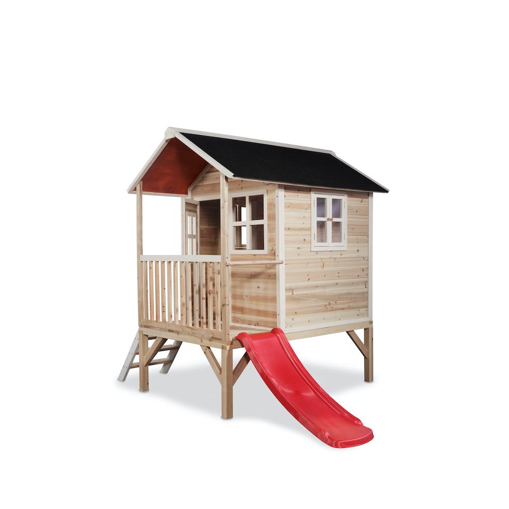 Maisonnette en bois EXIT Loft 300 - naturelle