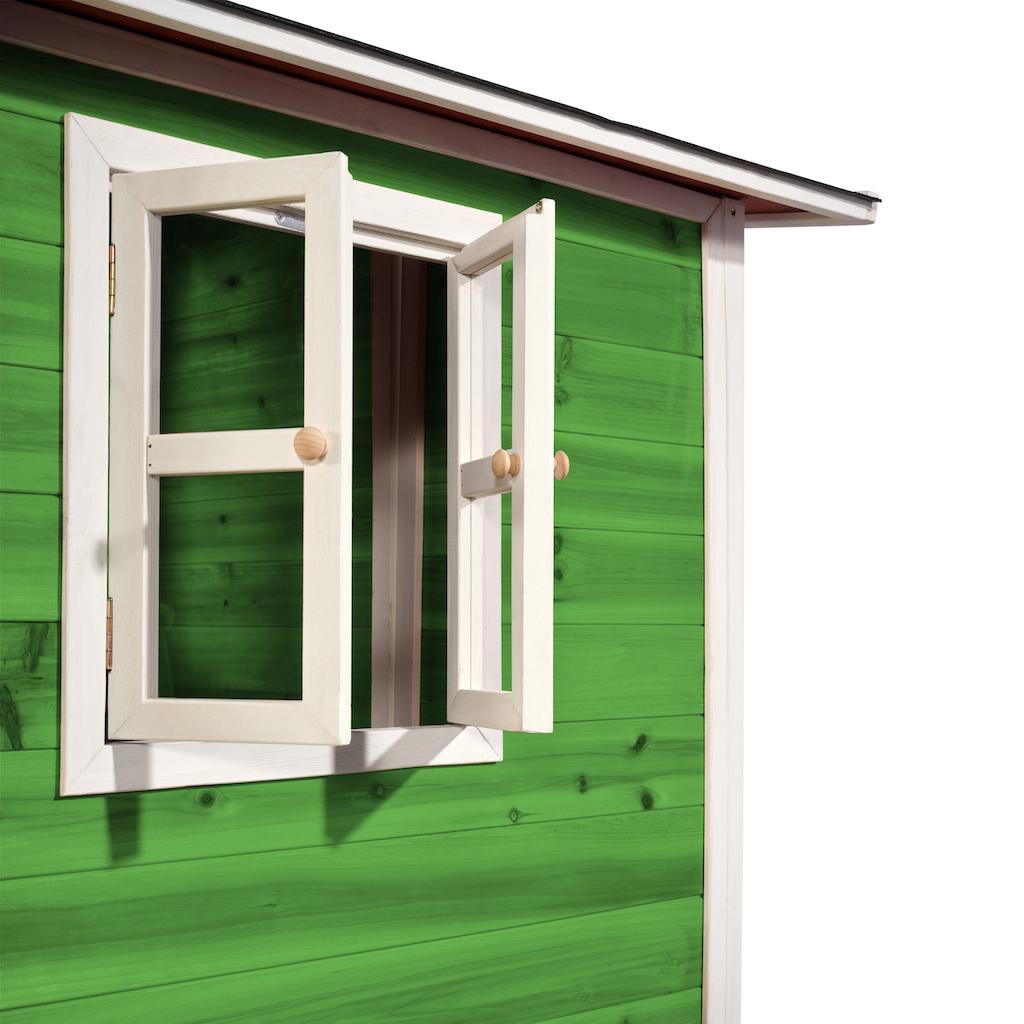 EXIT Loft 300 houten speelhuis - groen