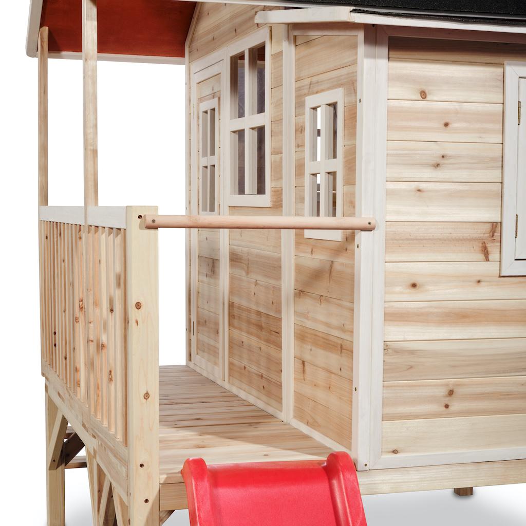 EXIT Loft 350 houten speelhuis - naturel