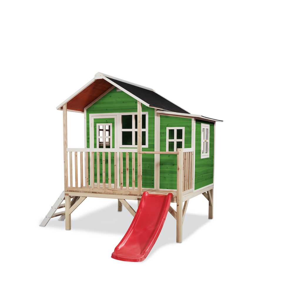 EXIT Loft 350 houten speelhuis - groen