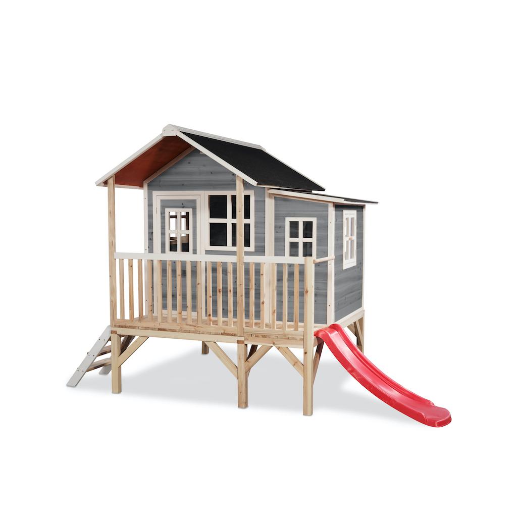 EXIT Loft 350 houten speelhuis - grijs