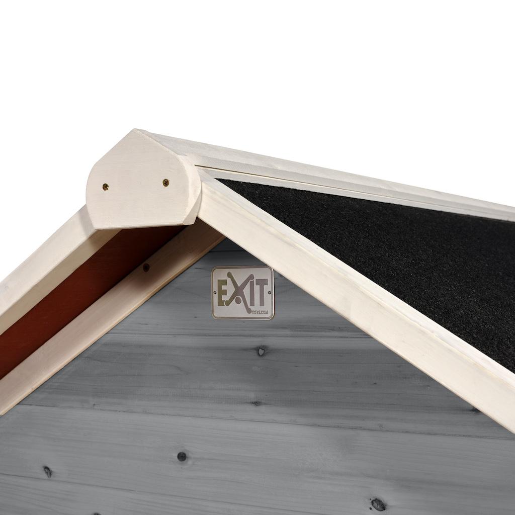 EXIT Loft 500 houten speelhuis - grijs