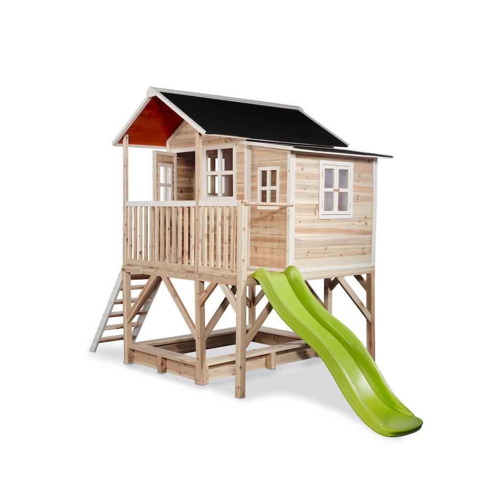 EXIT Loft 550 houten speelhuis - naturel