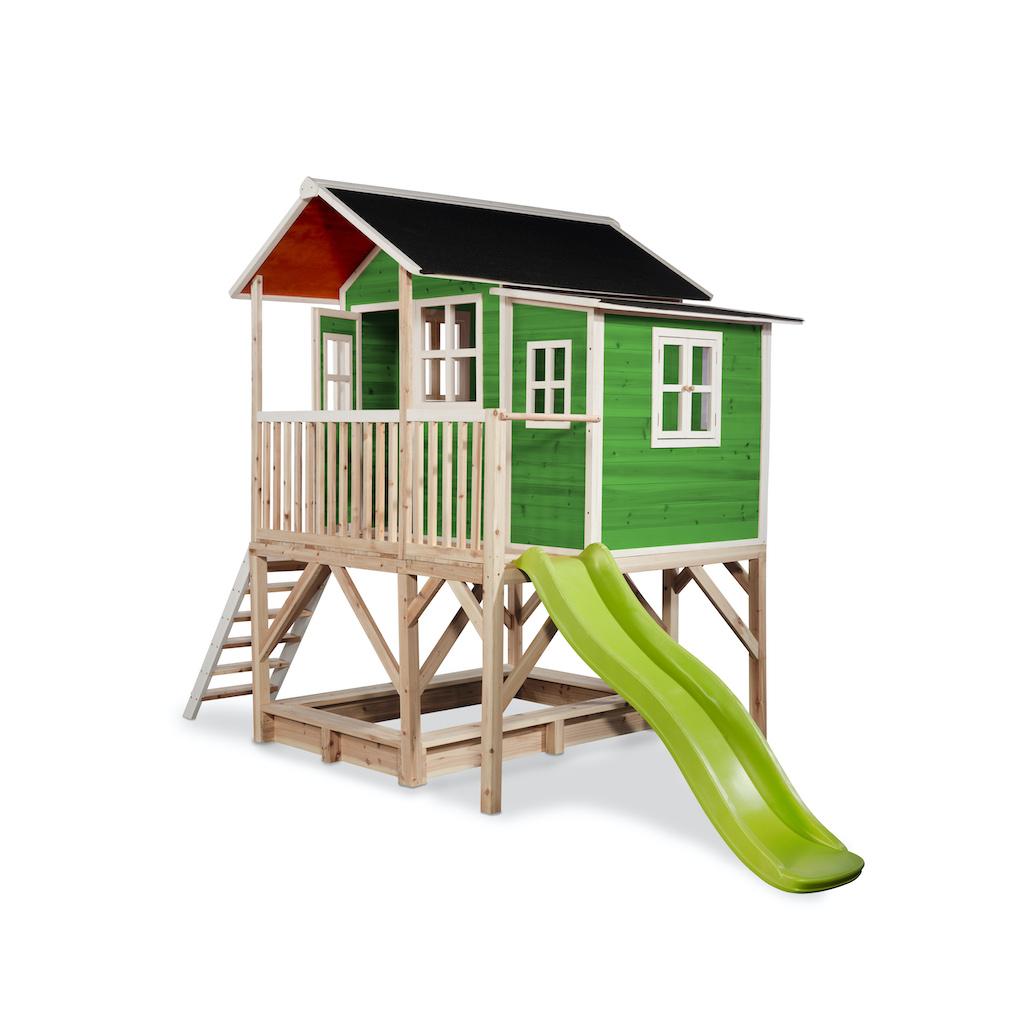 EXIT Loft 550 houten speelhuis - groen