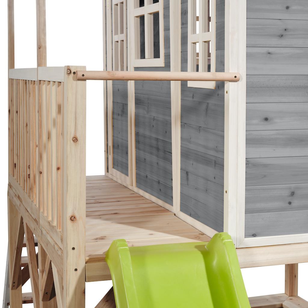 EXIT Loft 550 houten speelhuis - grijs