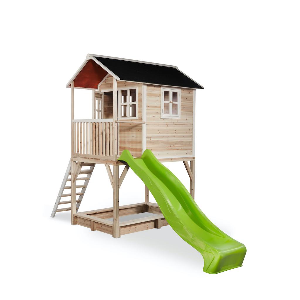 Maisonnette en bois EXIT Loft 700 - naturelle