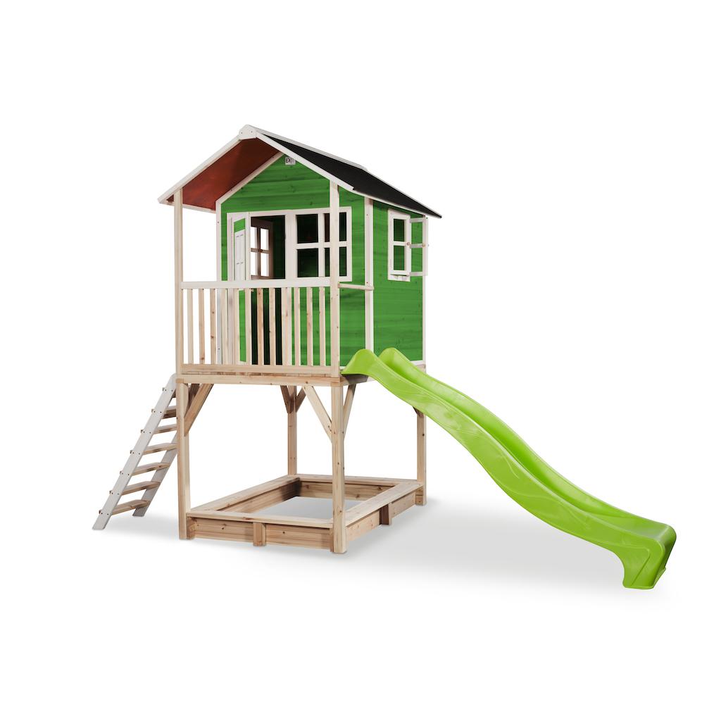 EXIT Loft 700 houten speelhuis - groen